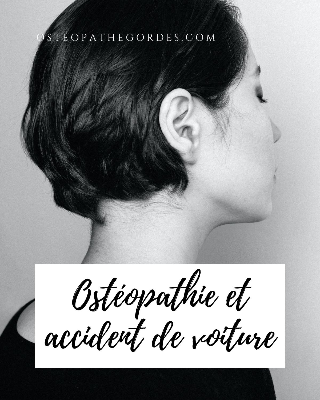 Ostéopathie et accident de voiture Jules Rampal Ostéopathe Gordes